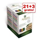 21 + 3 gratis! Applaws Selection saszetki w bulionie, 24 x 70 g